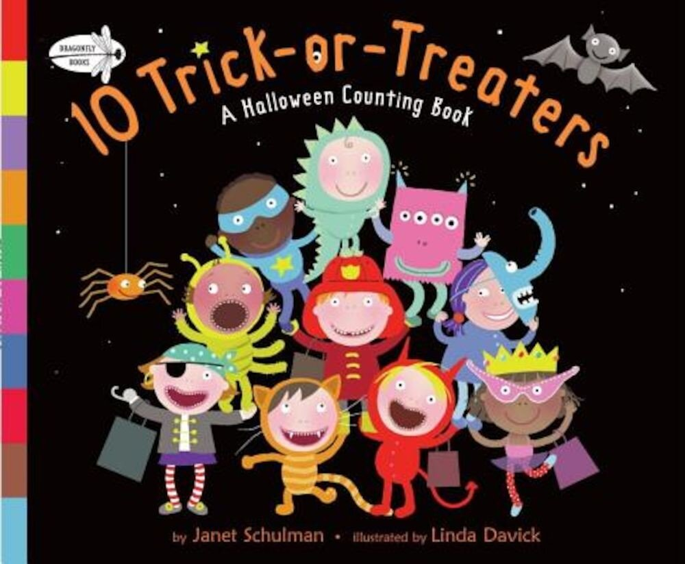 10 Trick-Or-Treaters: A Halloween Counting Book, Paperback