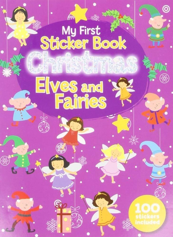 Sticker Book - 100 Stickers Christmas Elves & Fairies, Festive Fun, Rudolph & Friends, Santa'S Sleigh Ride (Ctn Qty 48)