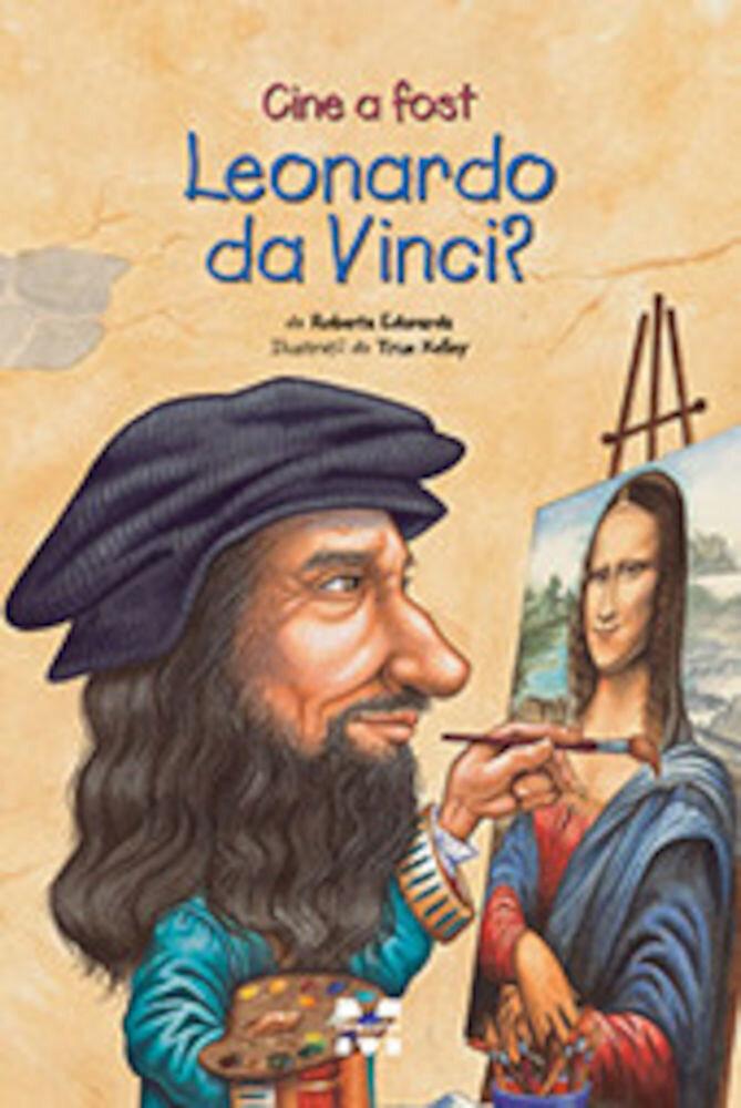 Coperta Carte Cine a fost Leonardo da Vinci?