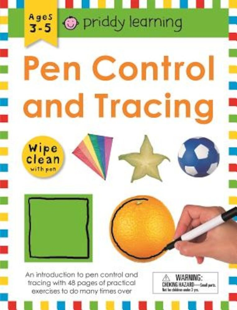 Wipe Clean Workbook: Pen Control and Tracing, Paperback