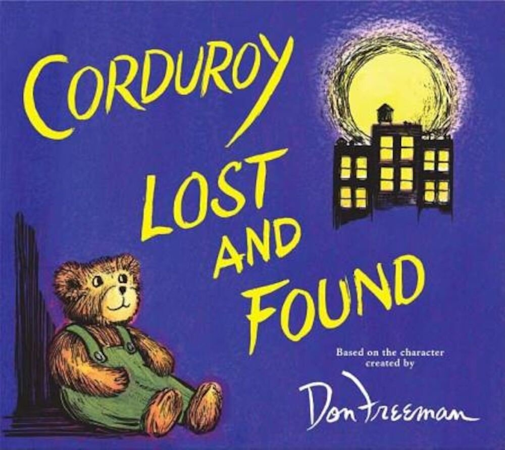Corduroy Lost and Found, Hardcover
