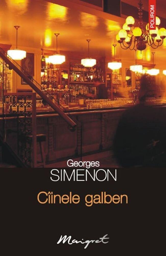 Coperta Carte Ciinele galben, Maigret, Vol. 50