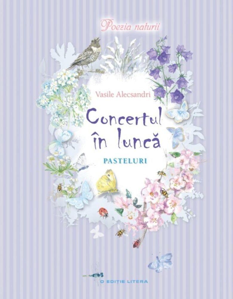 Coperta Carte Concert in lunca. Pasteluri