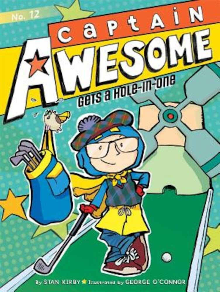 Captain Awesome Gets a Hole-In-One, Hardcover