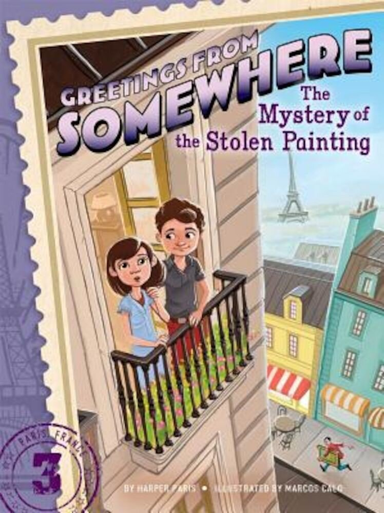 The Mystery of the Stolen Painting, Paperback