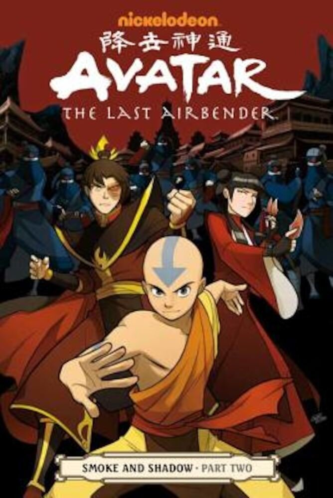 Avatar: The Last Airbender - Smoke and Shadow Part Two, Paperback