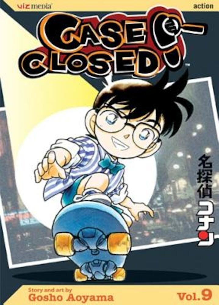 Case Closed, Volume 9, Paperback