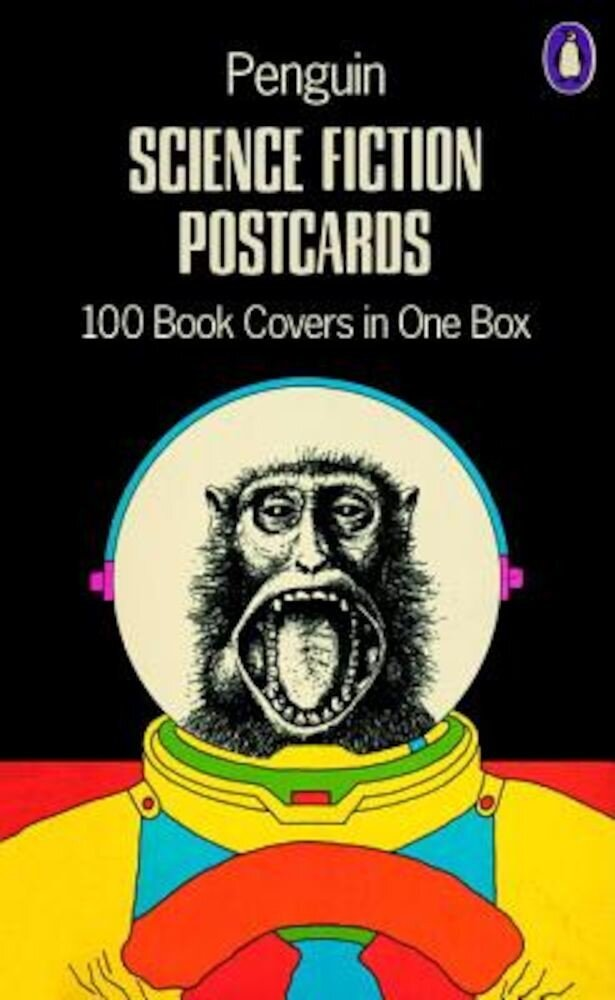 Penguin Science Fiction Postcards: 100 Book Covers in One Box, Hardcover