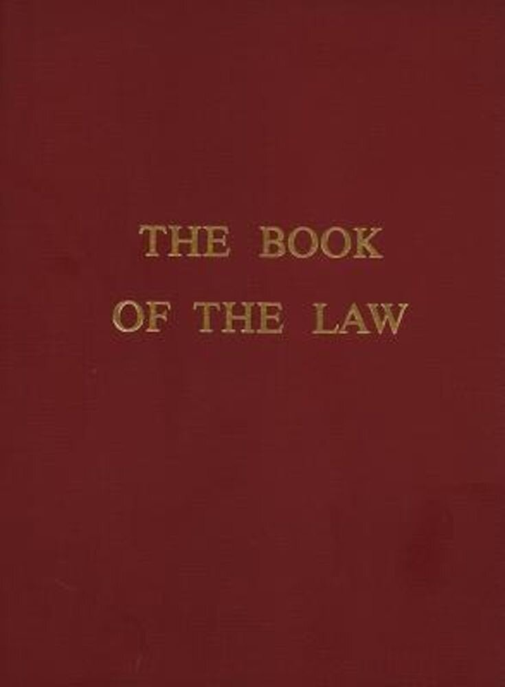 The Book of the Law, Paperback