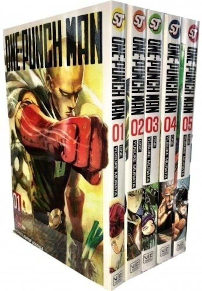 One-Punch Man Volume 1-5 Collection 5 Books Set