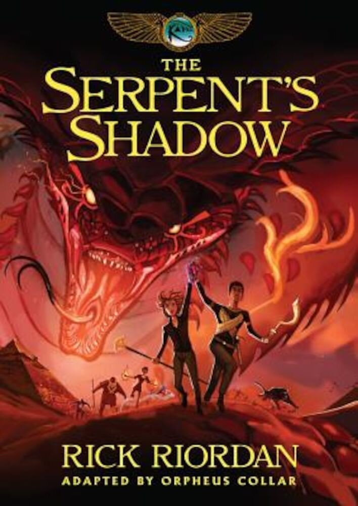 Kane Chronicles, The, Book Three the Serpent's Shadow: The Graphic Novel, Hardcover
