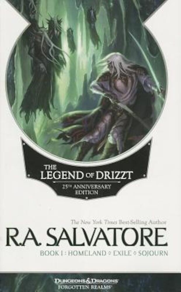 The Legend of Drizzt 25th Anniversary Edition, Book I, Paperback
