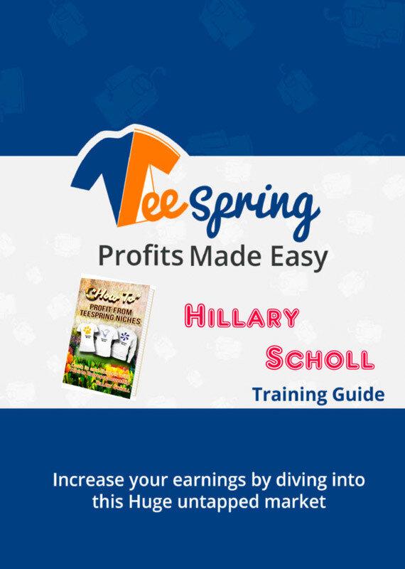 TeeSpring Profits Made Easy (eBook)