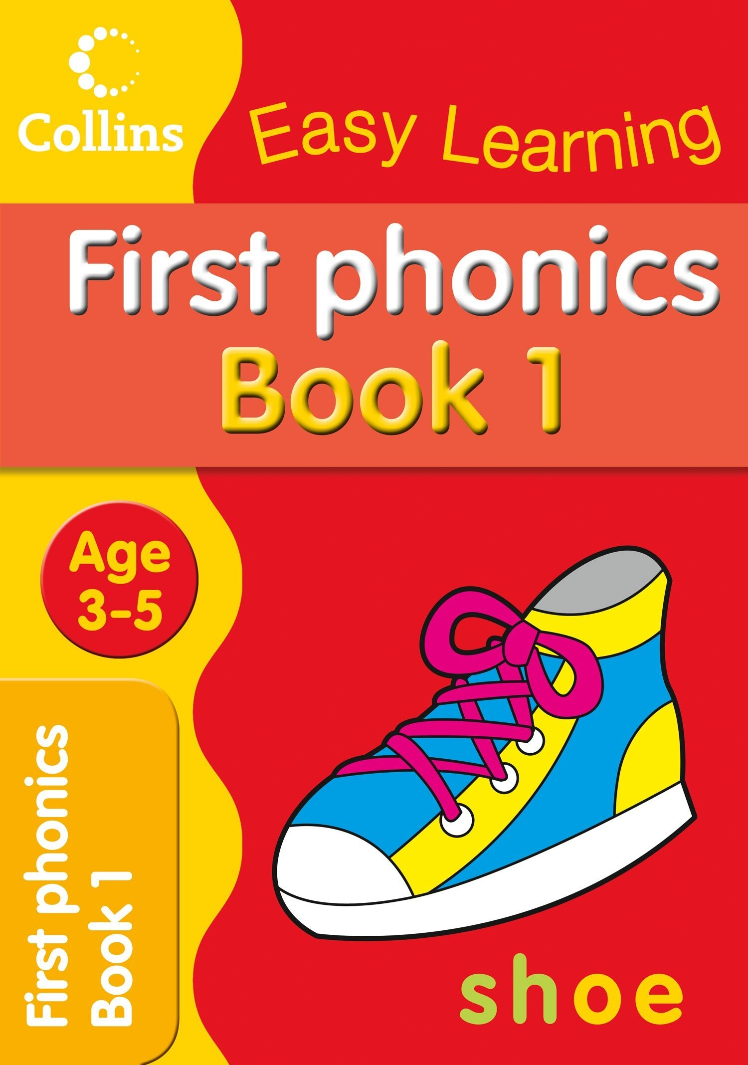 Collins Easy Learning Preschool ? First Phonics Ages 3-5