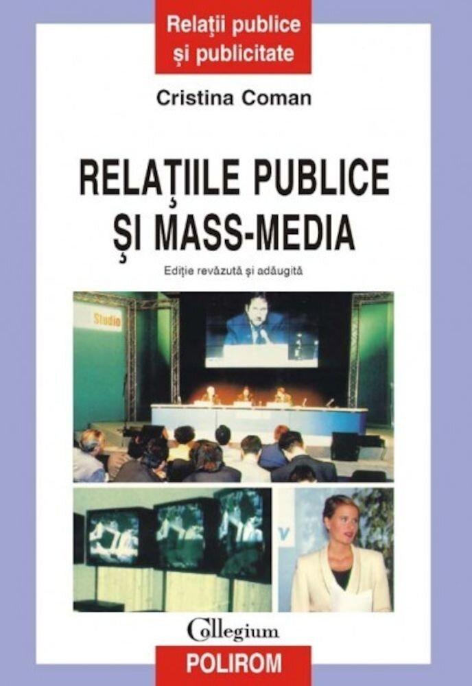 Coperta Carte Relatiile publice si mass-media