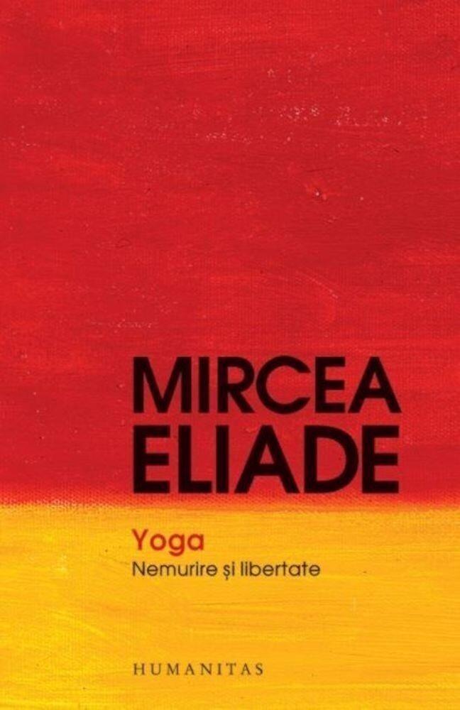 Coperta Carte Yoga. Nemurire si libertate