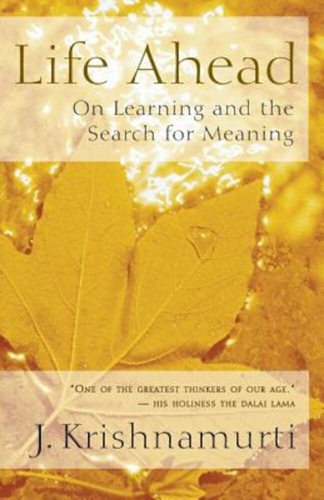 Life Ahead: On Learning and the Search for Meaning, Paperback