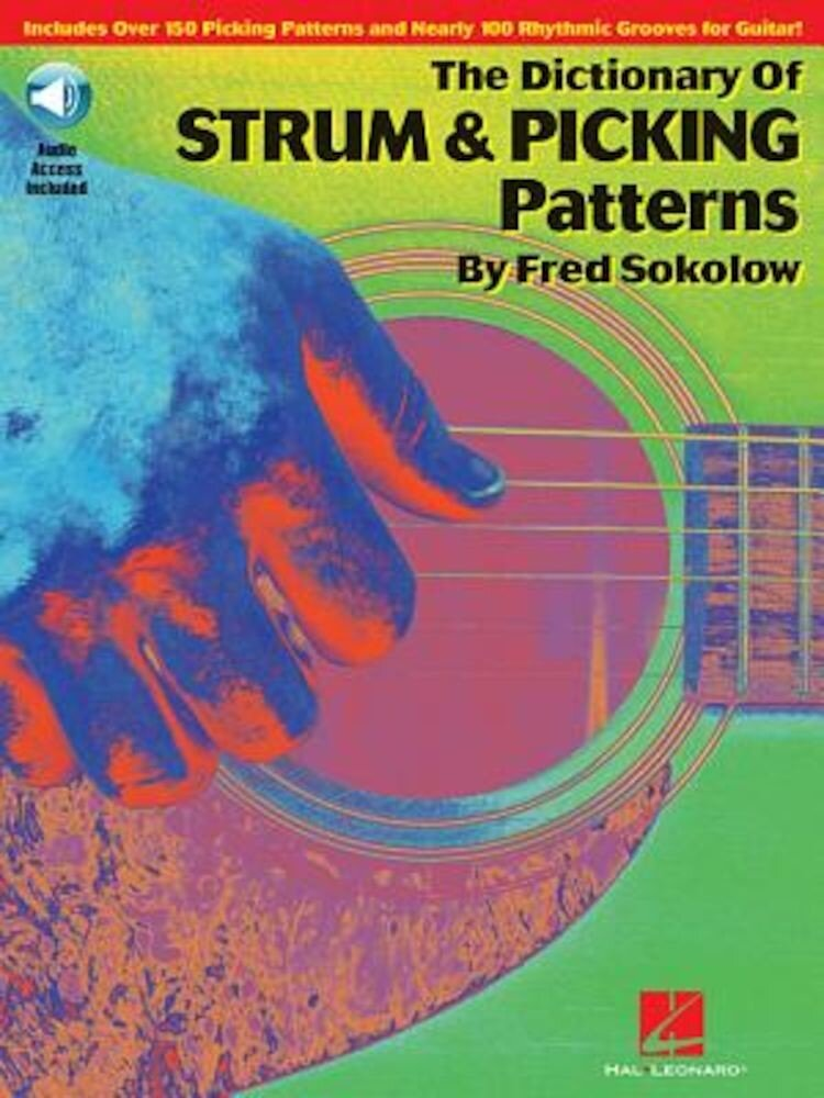 The Dictionary of Strum & Picking Patterns [With CD (Audio)], Paperback