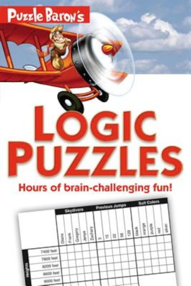 Puzzle Baron's Logic Puzzles, Paperback