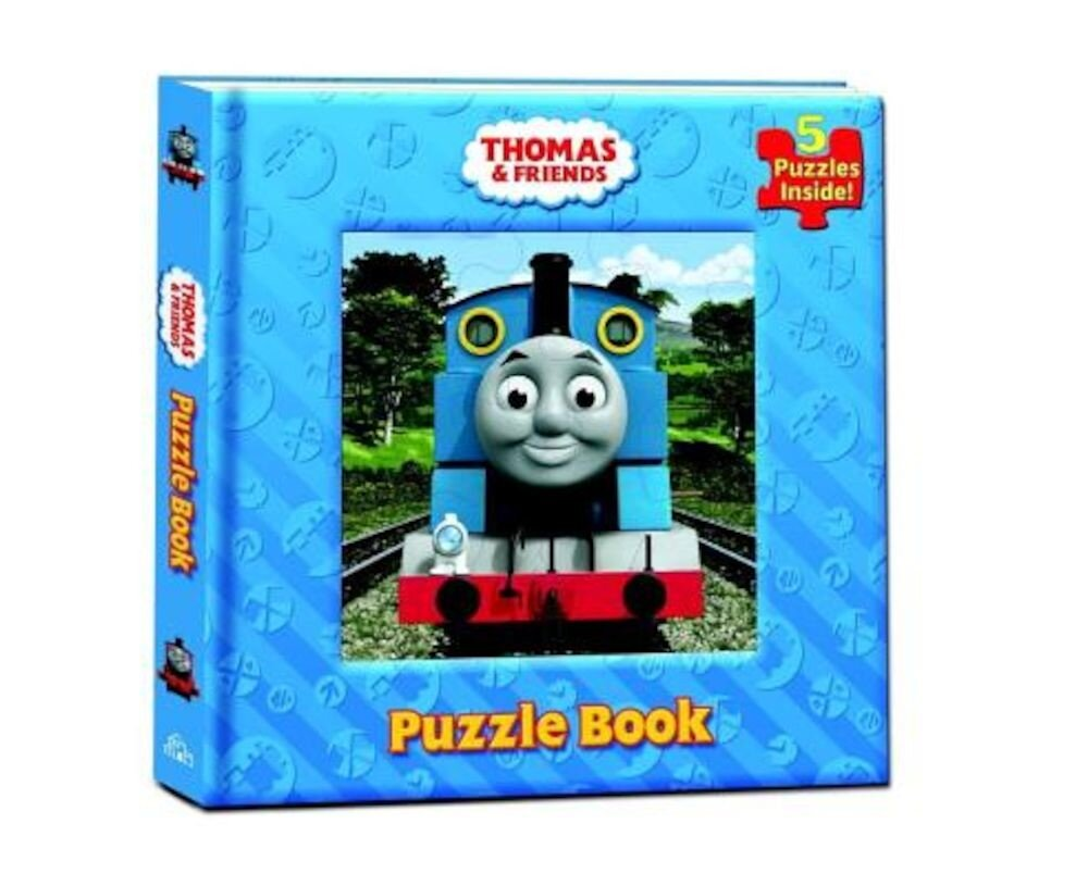 Thomas & Friends Puzzle Book, Hardcover