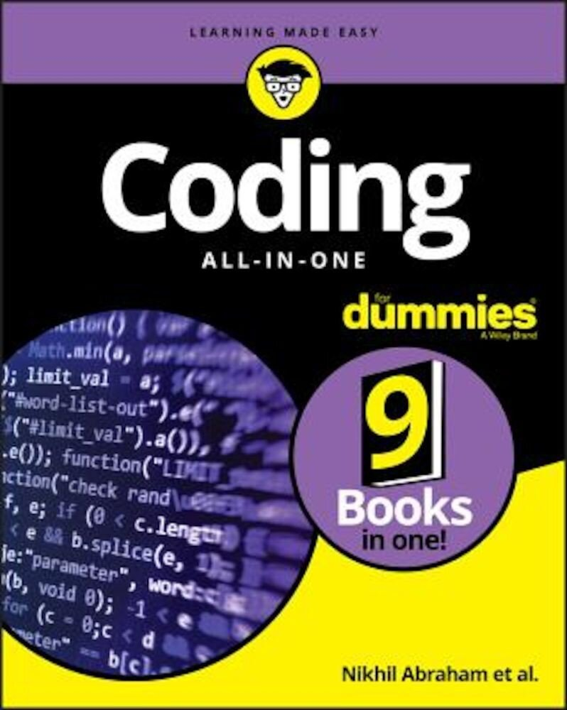 Coding All-In-One for Dummies, Paperback