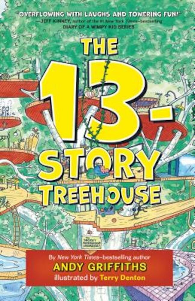 The 13-Story Treehouse, Hardcover