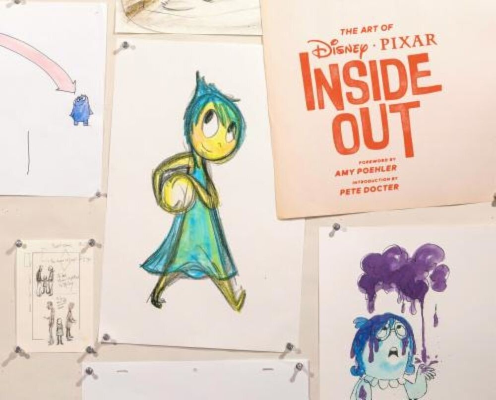 The Art of Disney Pixar Inside Out, Hardcover