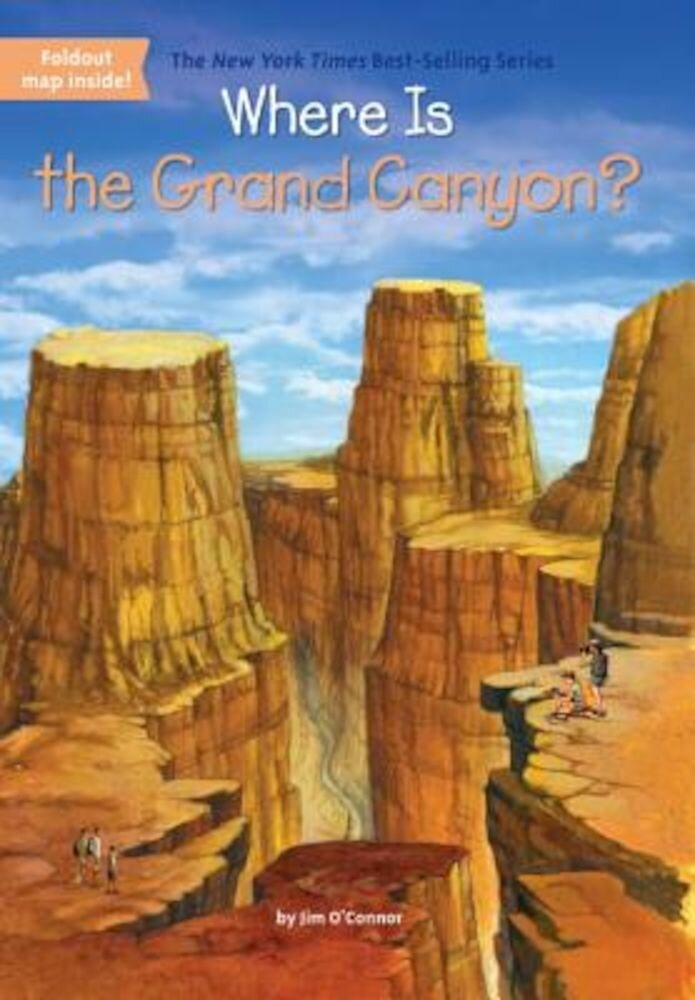 Where Is the Grand Canyon?, Paperback