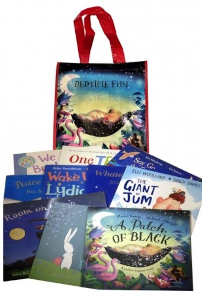 Bedtime Fun For Everyone Collection 10 Books Set in a Bag