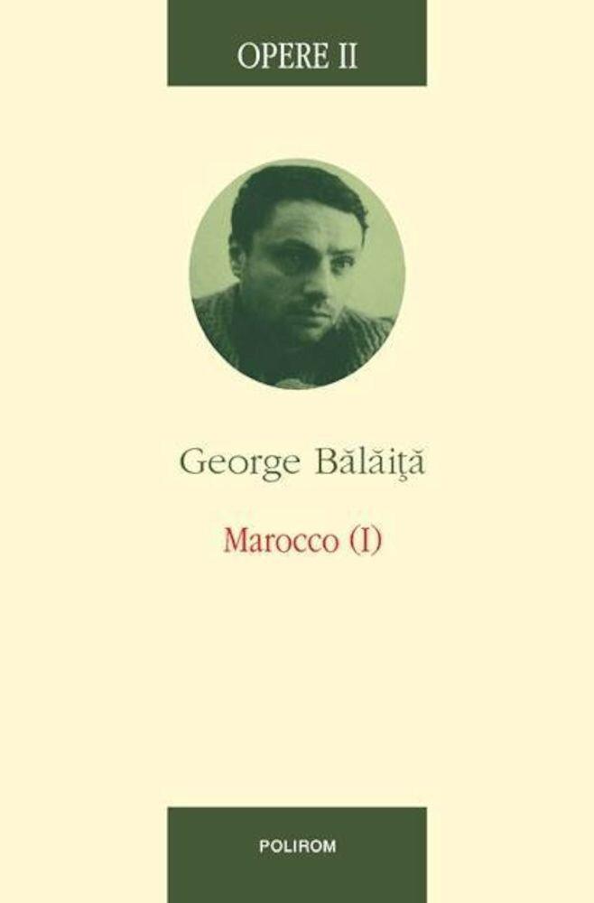 Coperta Carte Opere II. Marocco (1)