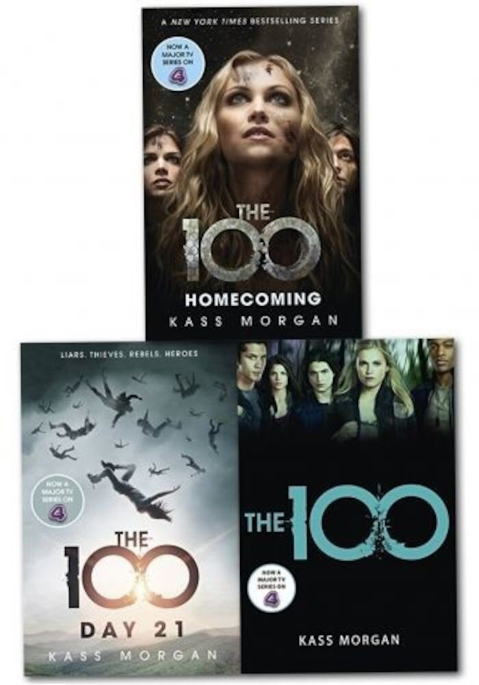 Kass Morgan 100 Series 3 Books Collection Set