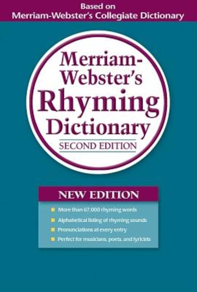 Merriam-Webster's Rhyming Dictionary, Paperback