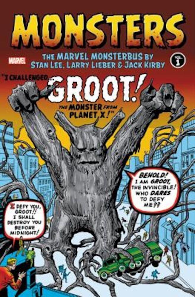 Monsters, Volume 1: The Marvel Monsterbus, Hardcover