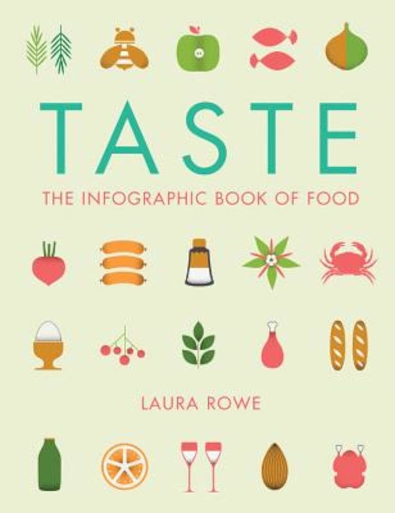 Taste: The Infographic Book of Food, Paperback
