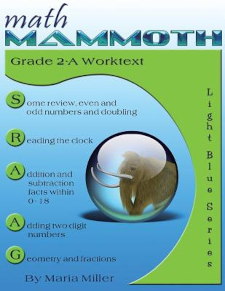Math Mammoth Grade 2-A Worktext, Paperback