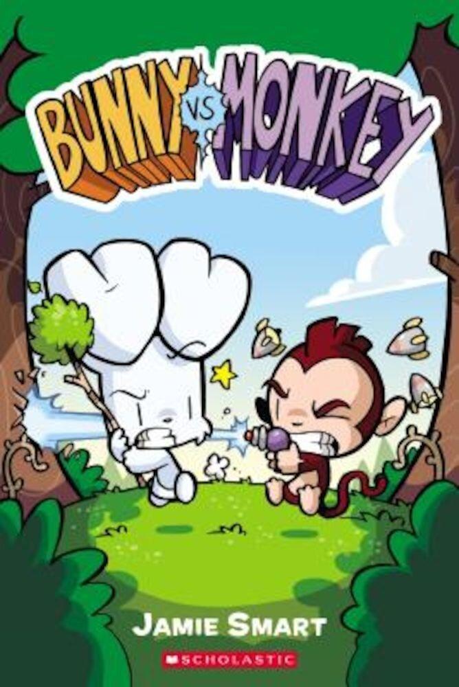 Bunny vs. Monkey, Paperback