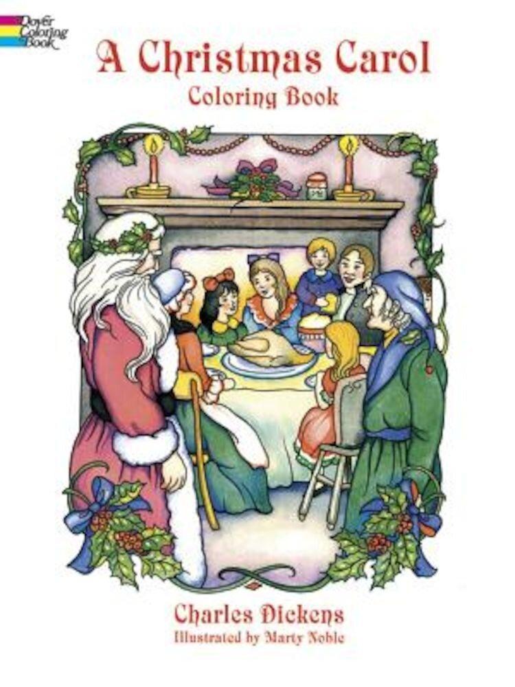 A Christmas Carol Coloring Book, Paperback