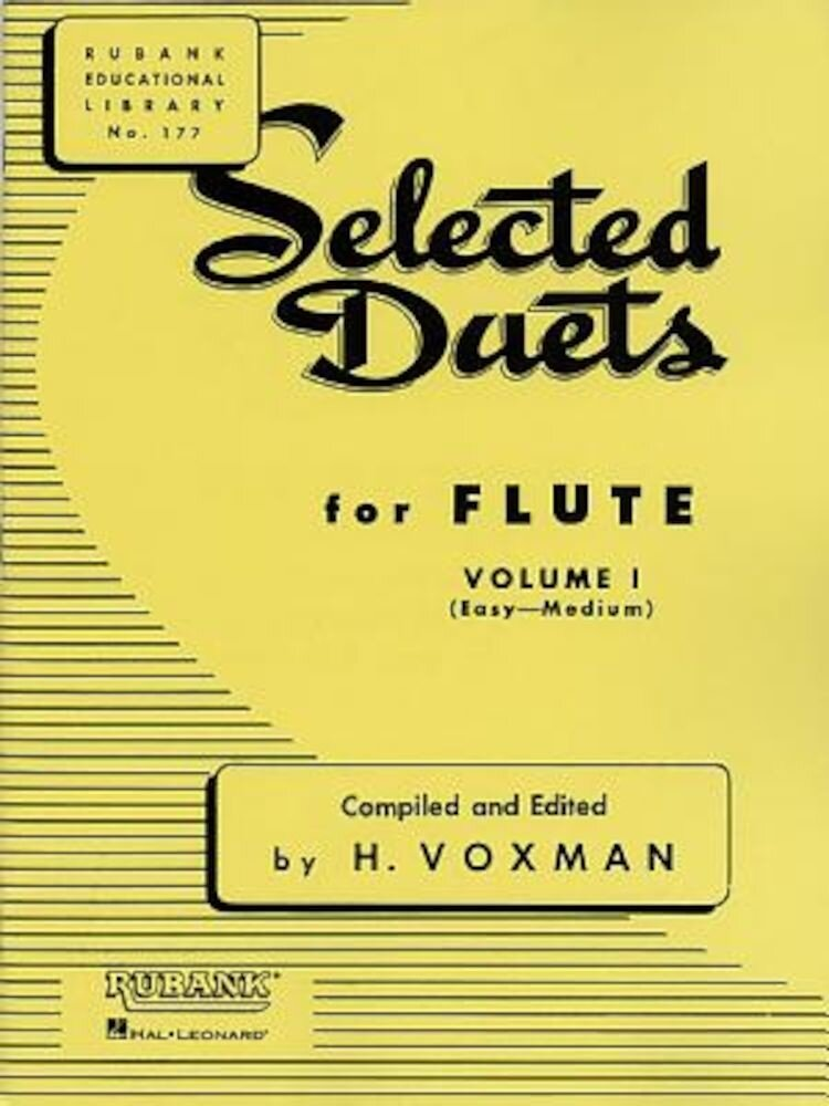 Selected Duets for Flute: Volume 1 - Easy to Medium, Paperback