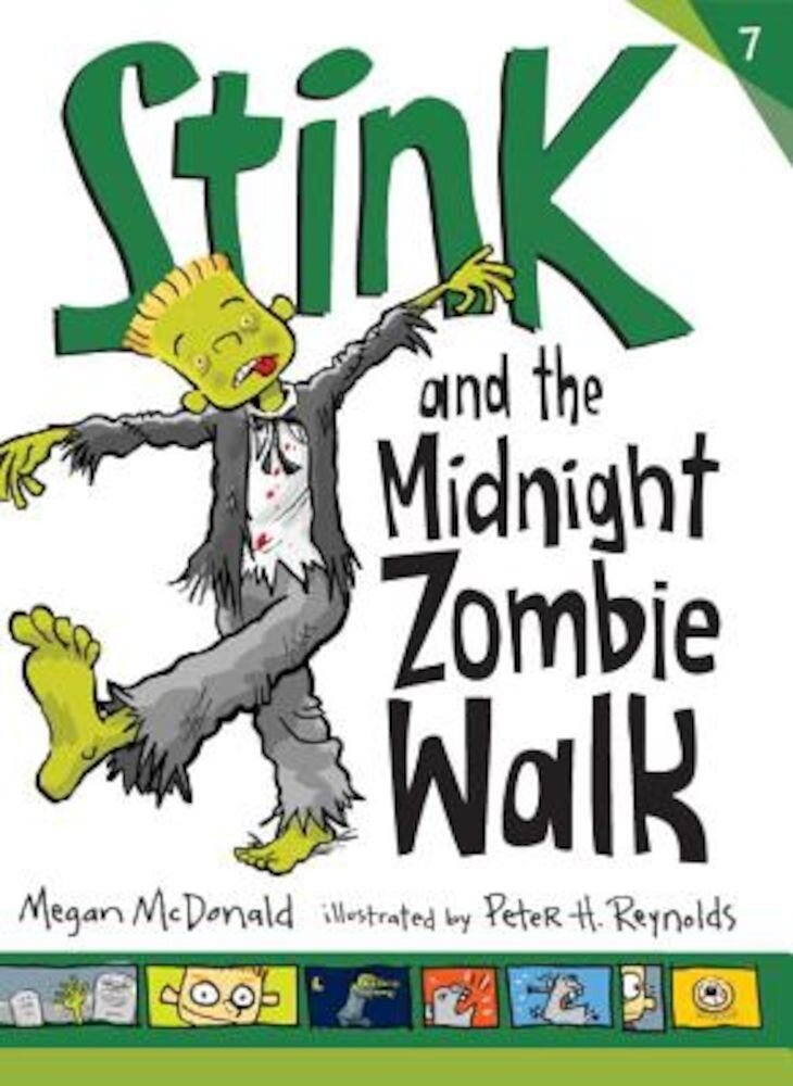 Stink and the Midnight Zombie Walk, Paperback