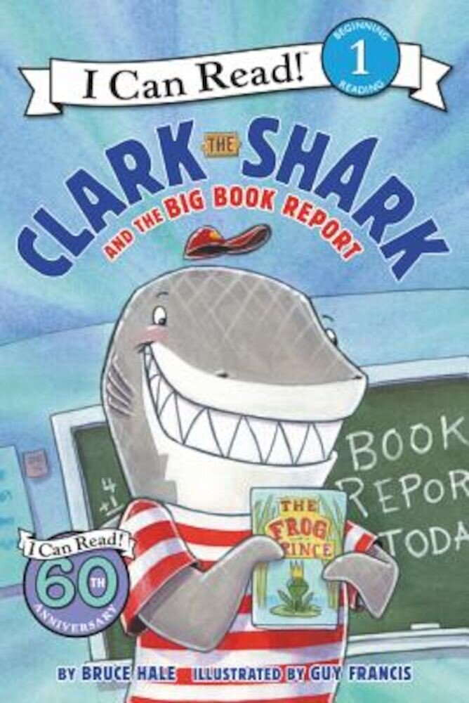 Clark the Shark and the Big Book Report, Paperback