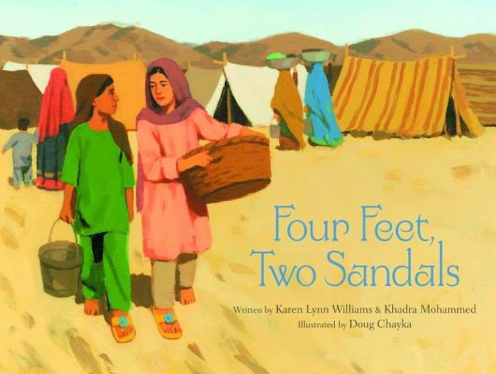 Four Feet, Two Sandals, Hardcover