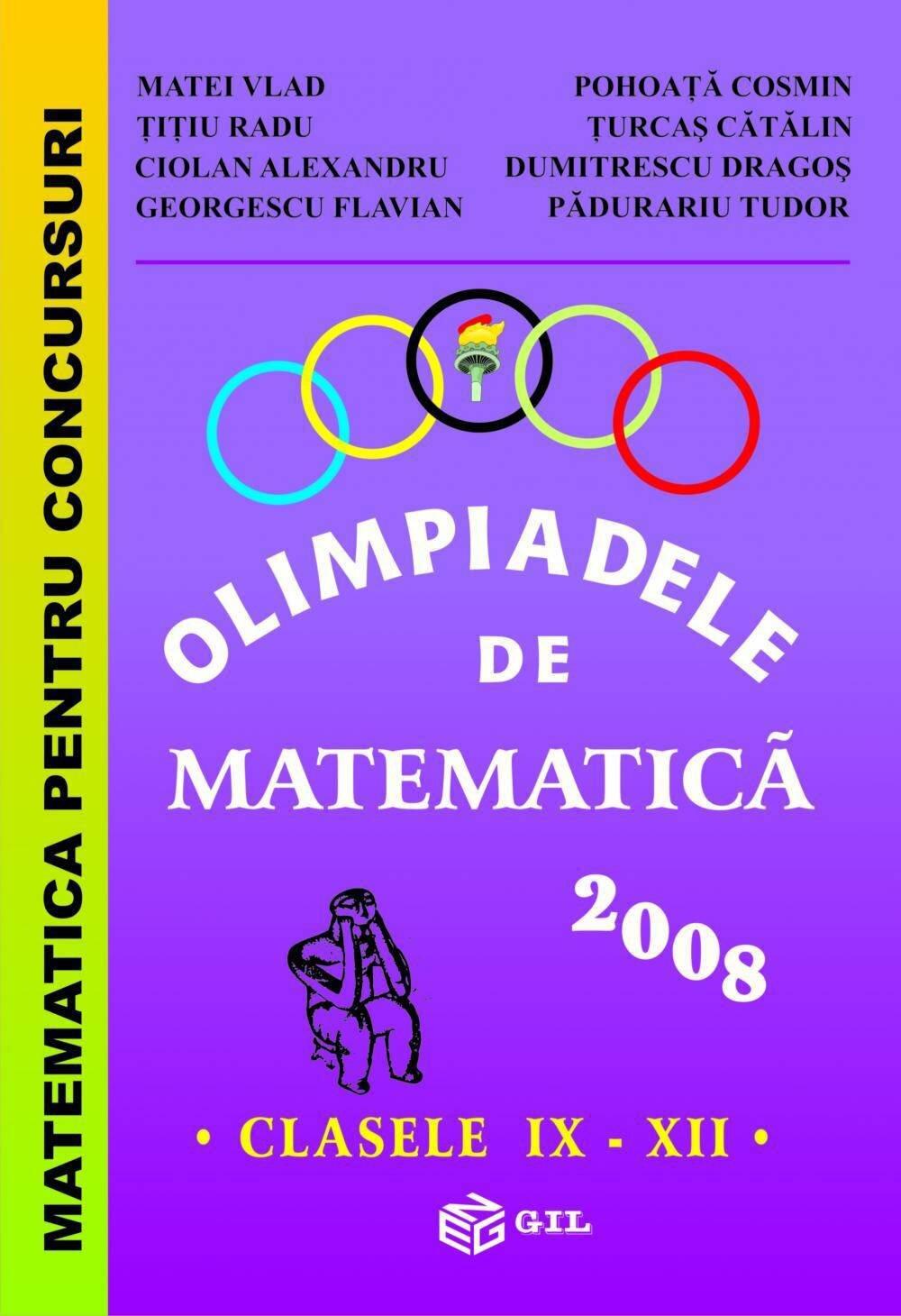 Olimpiade de Matematica IX-XII 2008 (eBook)