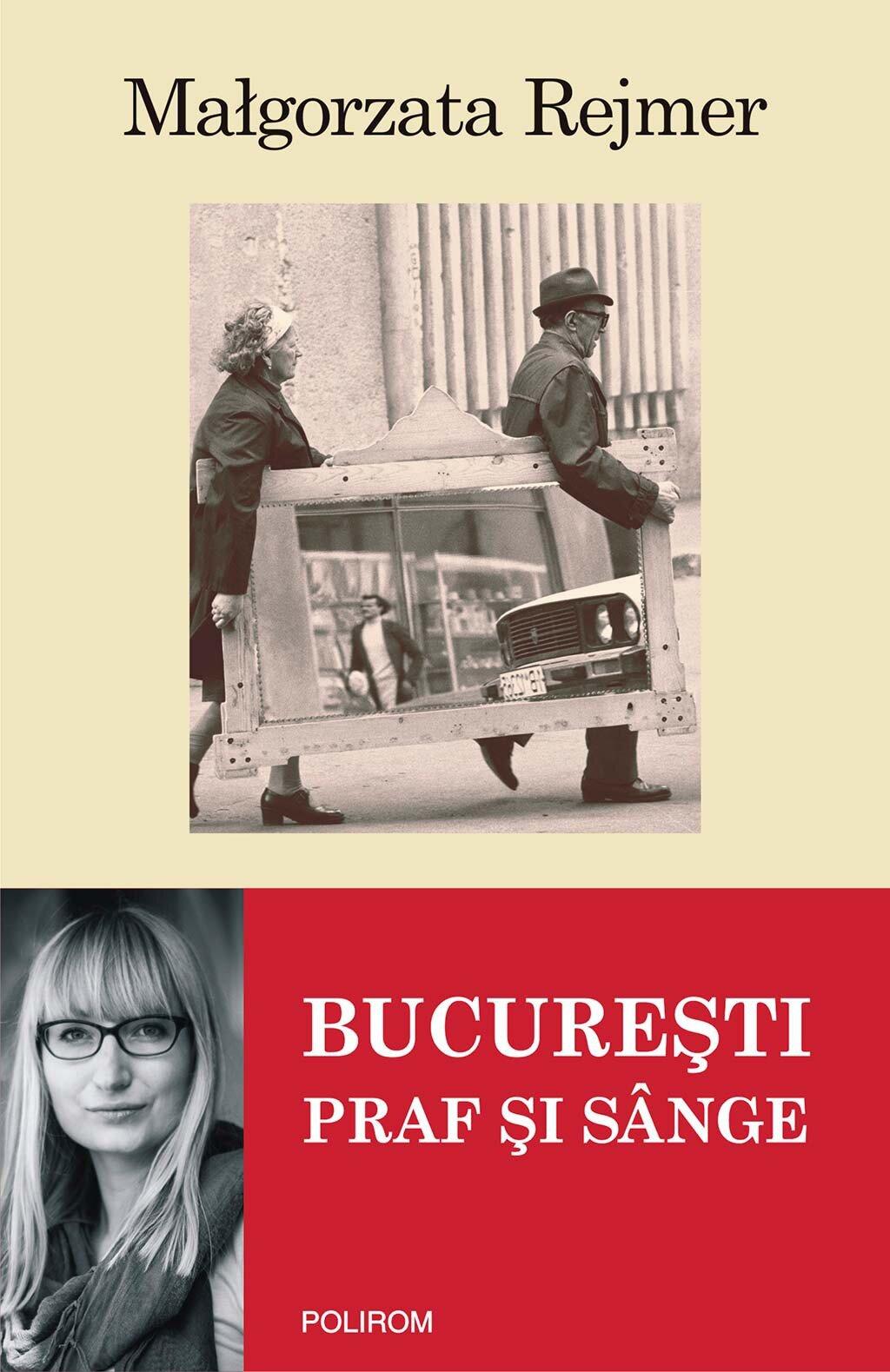 Coperta Carte Bucuresti. Praf si sange