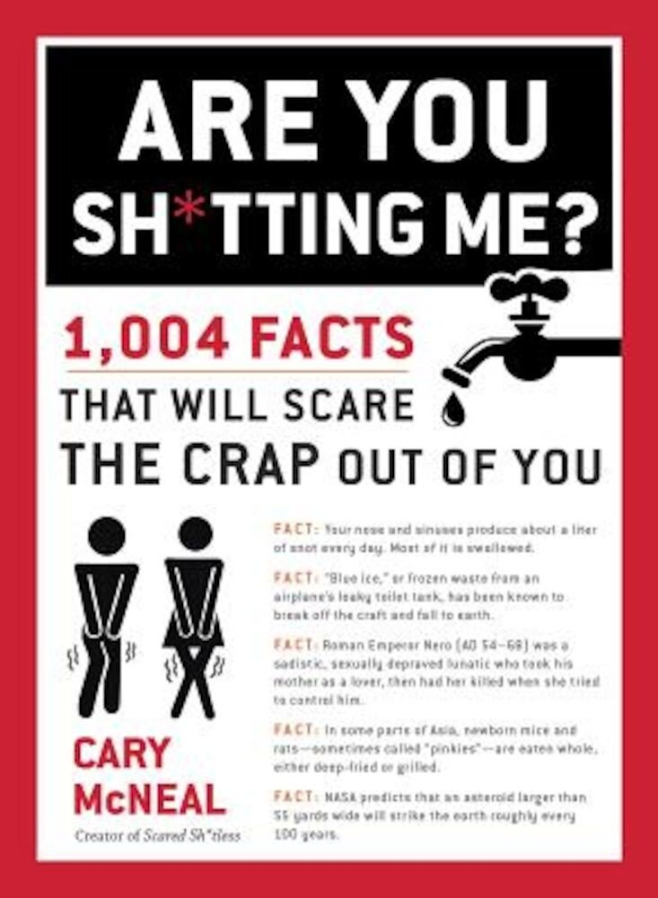 Are You Shtting Me?: 1,004 Facts That Will Scare the Sht Out of You, Paperback