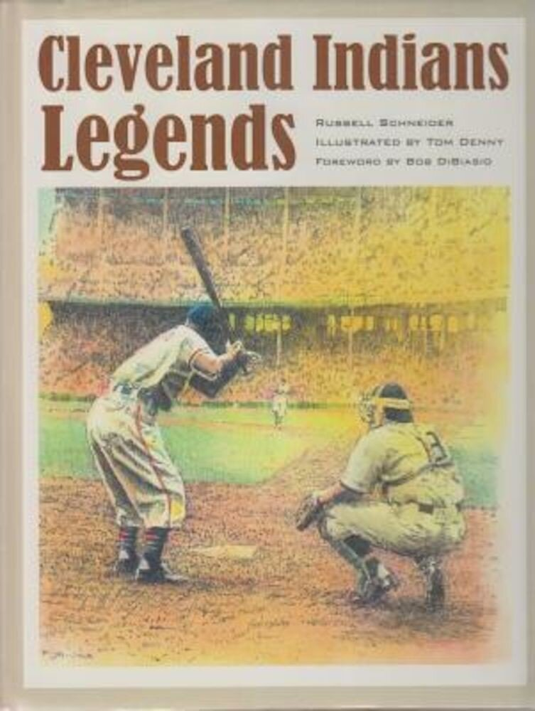 Cleveland Indians Legends, Hardcover