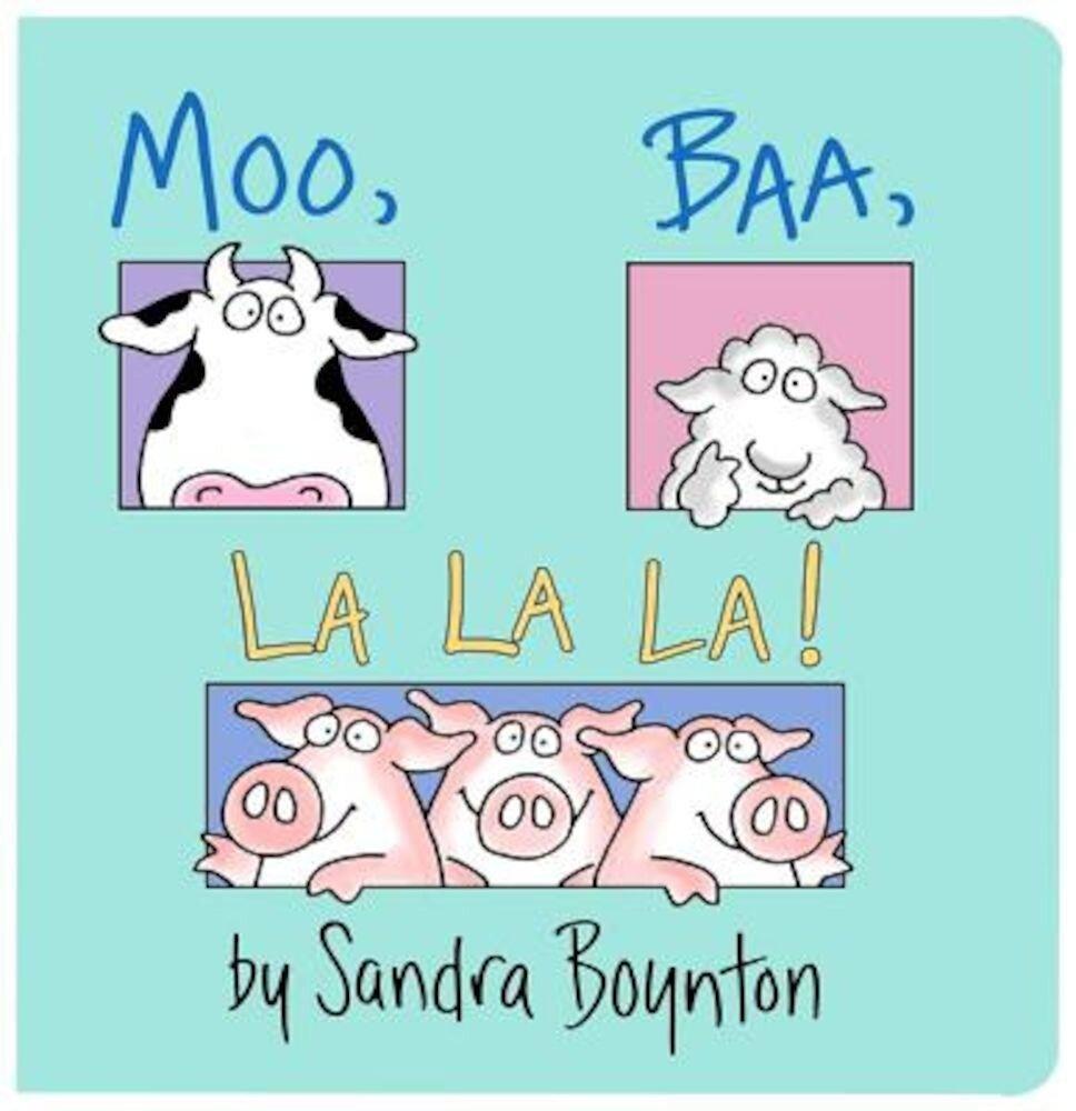 Moo, Baa, La La La!, Hardcover