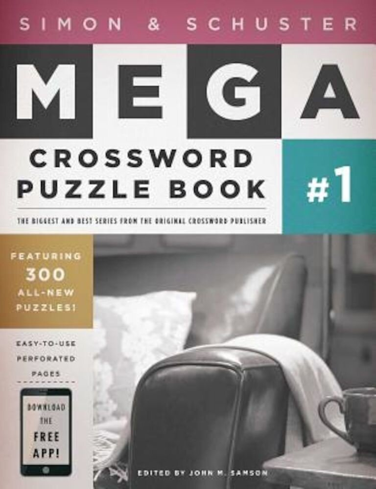 Simon & Schuster Mega Crossword Puzzle Book: Series 1, Paperback