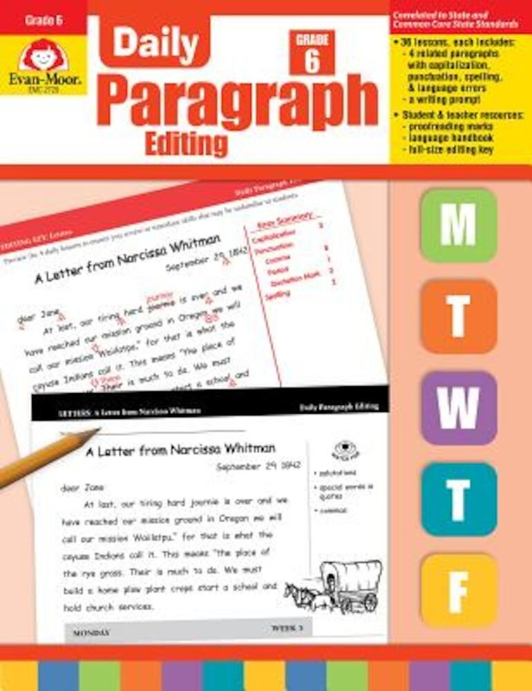 Daily Paragraph Editing Grade 6+, Paperback