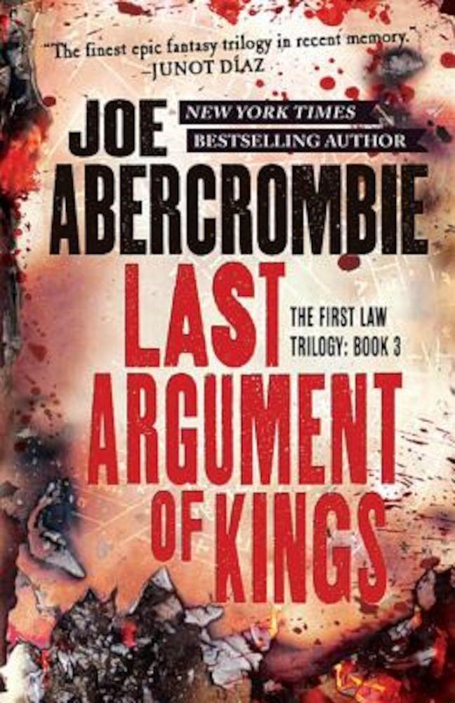 Last Argument of Kings, Paperback