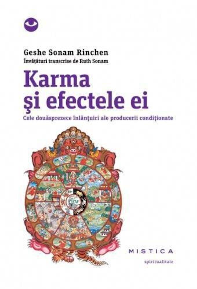 Karma si efectele ei. Cele douasprezece inlantuiri ale producerii conditionate
